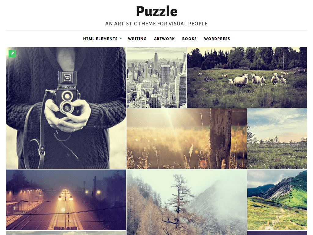 Puzzle WordPress Theme
