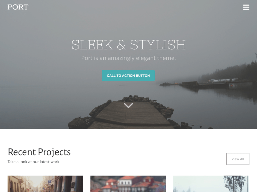 Port WordPress Theme