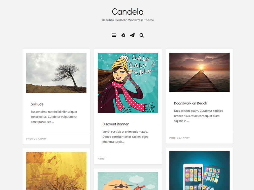 Candela WordPress Theme