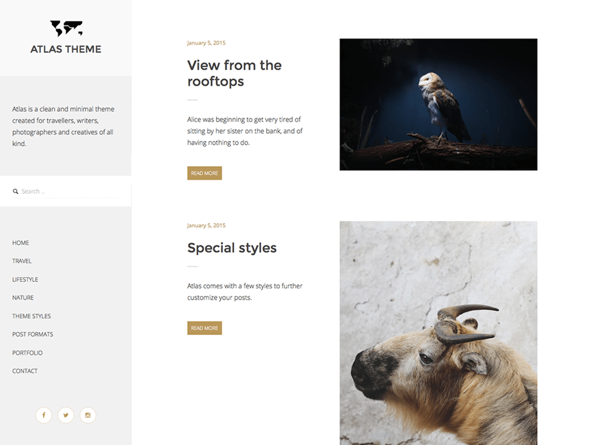 Atlas WordPress Theme