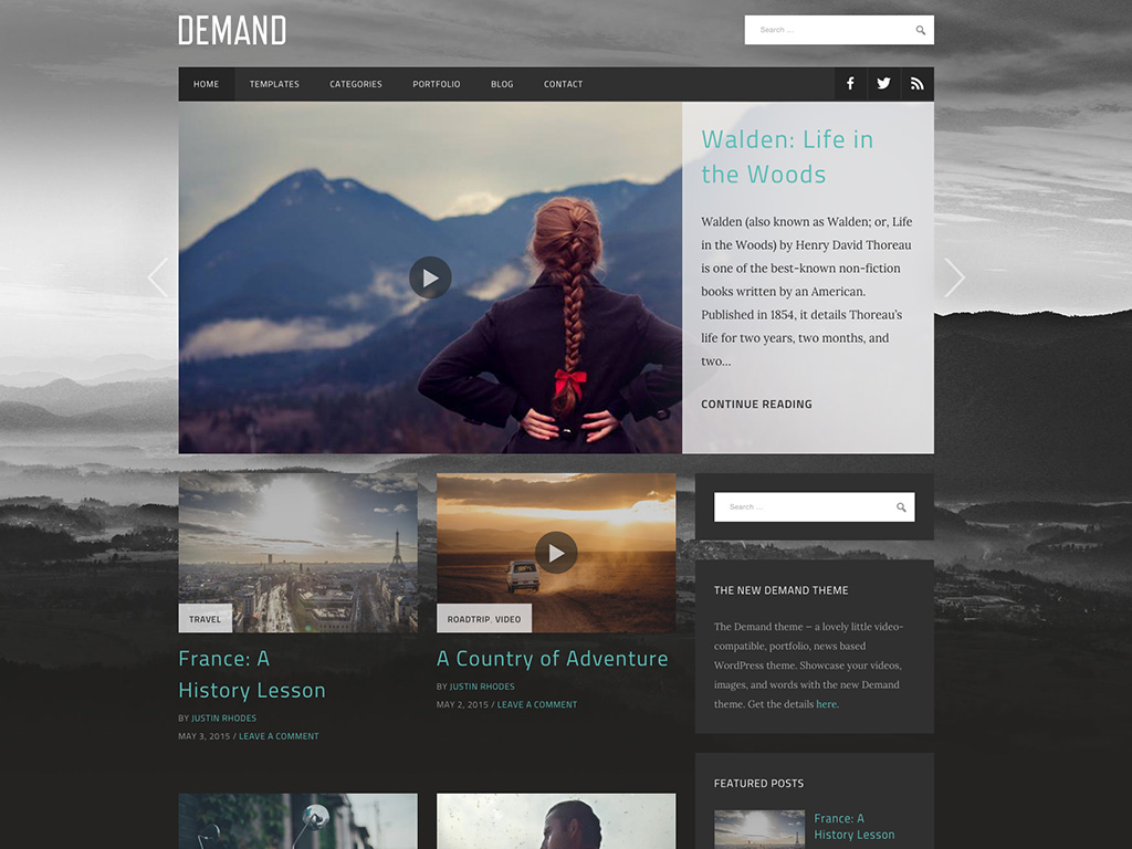 Demand WordPress Theme