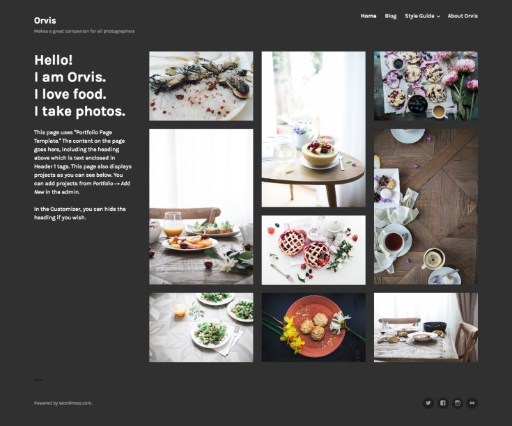 Orvis Theme — WordPress.com