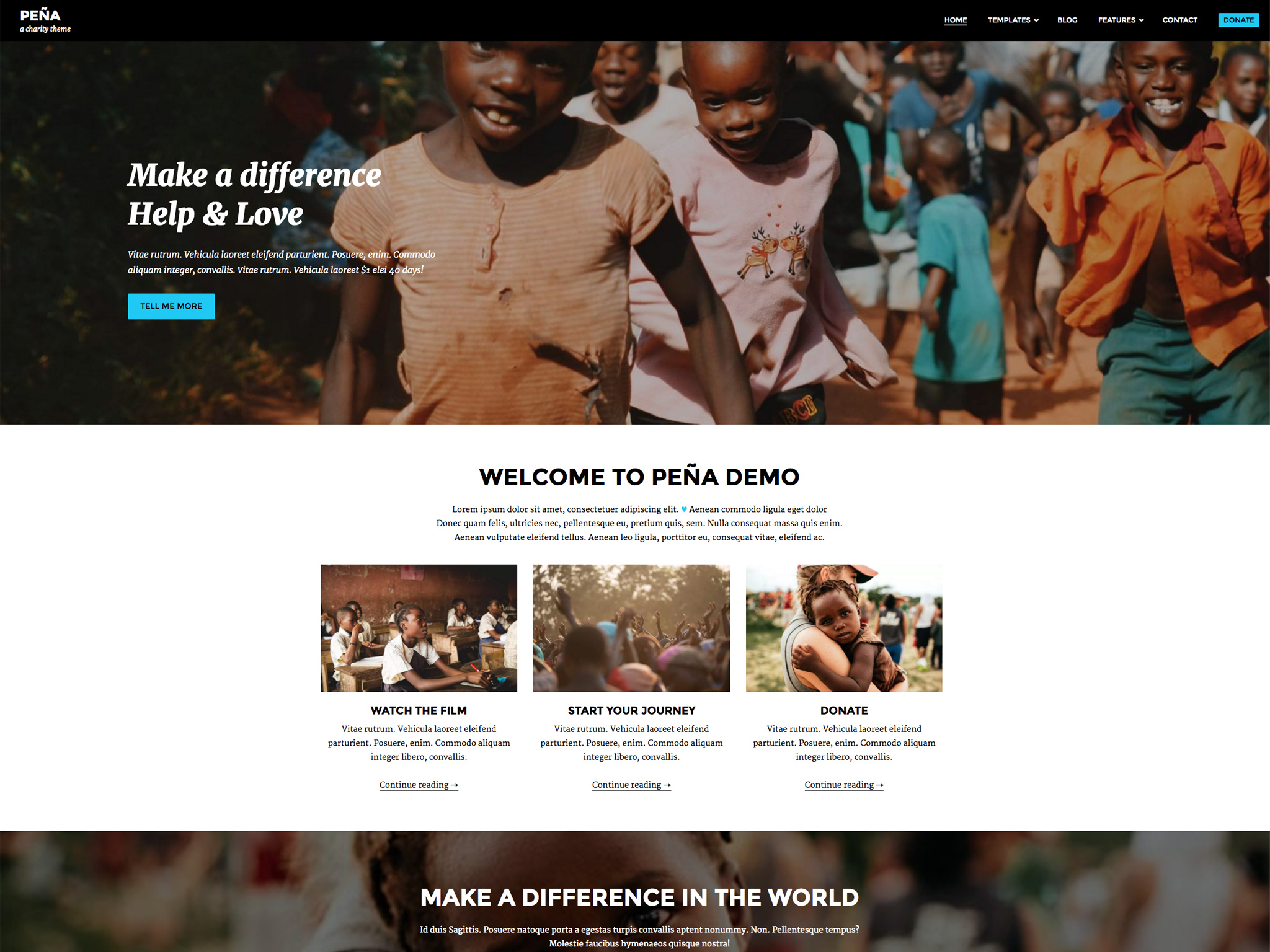 Pena WordPress Theme