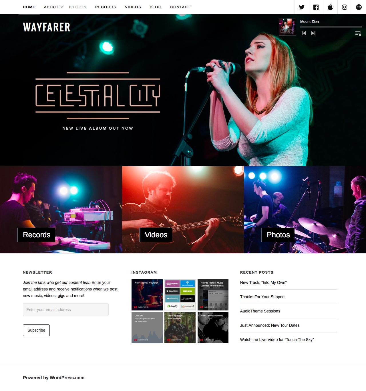 Romantic WordPress Themes - MAGEEWP