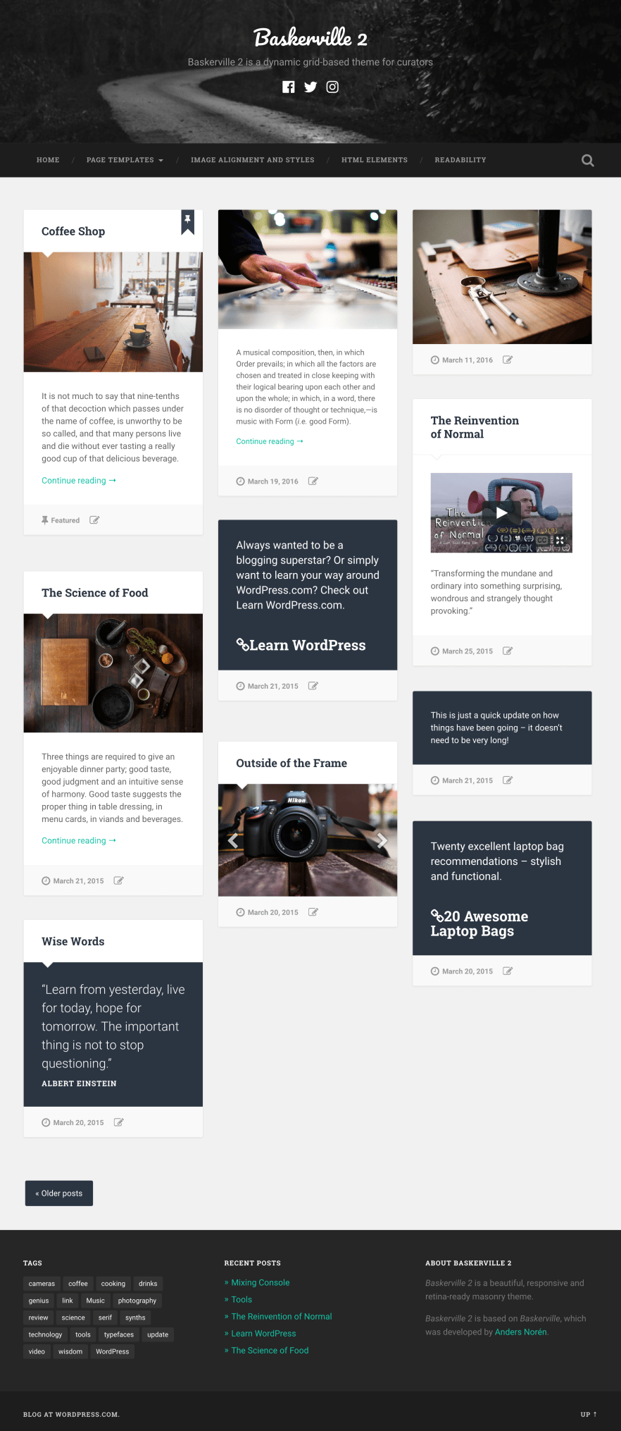 Baskerville 2 WordPress Theme