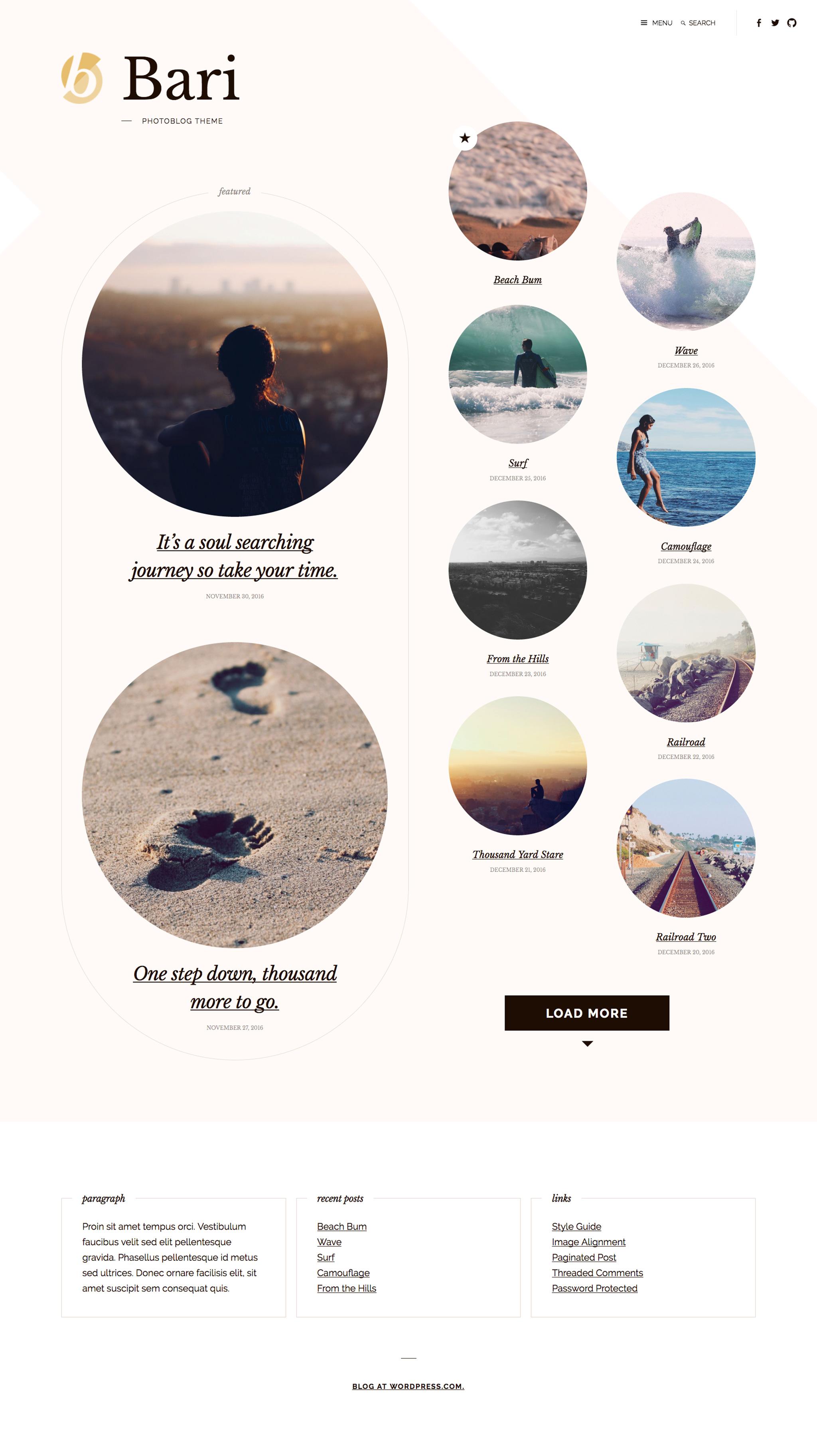 Bari WordPress Theme