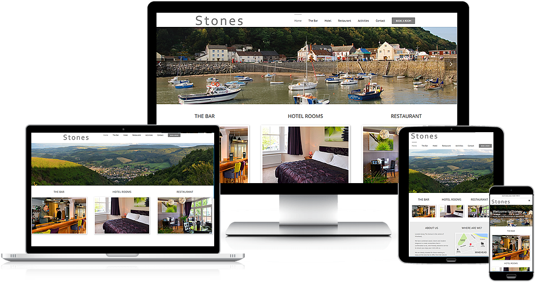 Mobile friendly website designers in Taunton, Somerset