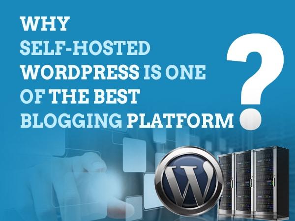 Image of wordpress self-hosted blogging platform