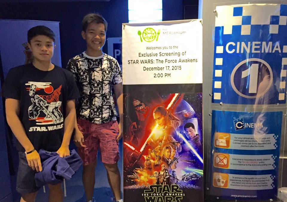 Star Wars: The Force Awakens Block Screening