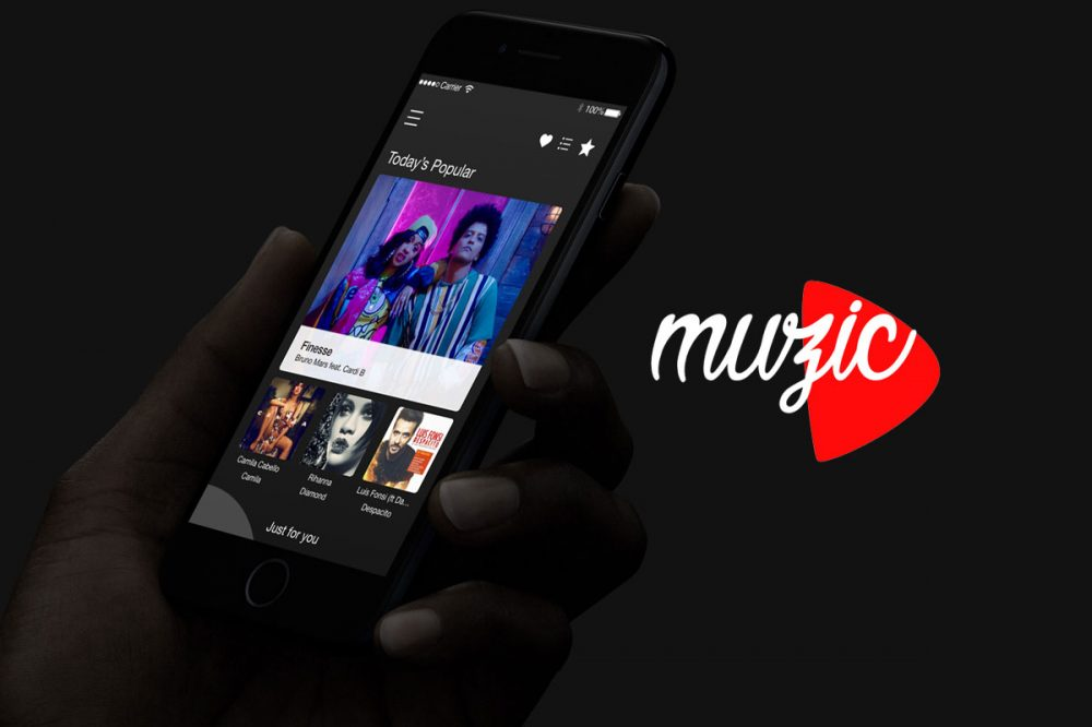 Muzic – Mobile Music Player app