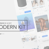 Modern E-Commerce Mobile UI Kit
