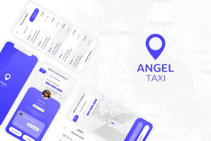 Angel Taxi - A Ride Booking Mobile Application