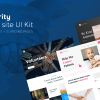 Savers Charity Web UI Kit - Theme Angel