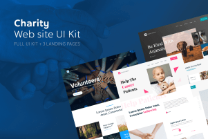 Savers Charity Web UI Kit