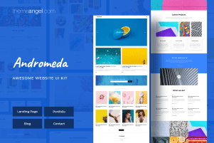 Andromeda | Creative Agency UI Kit