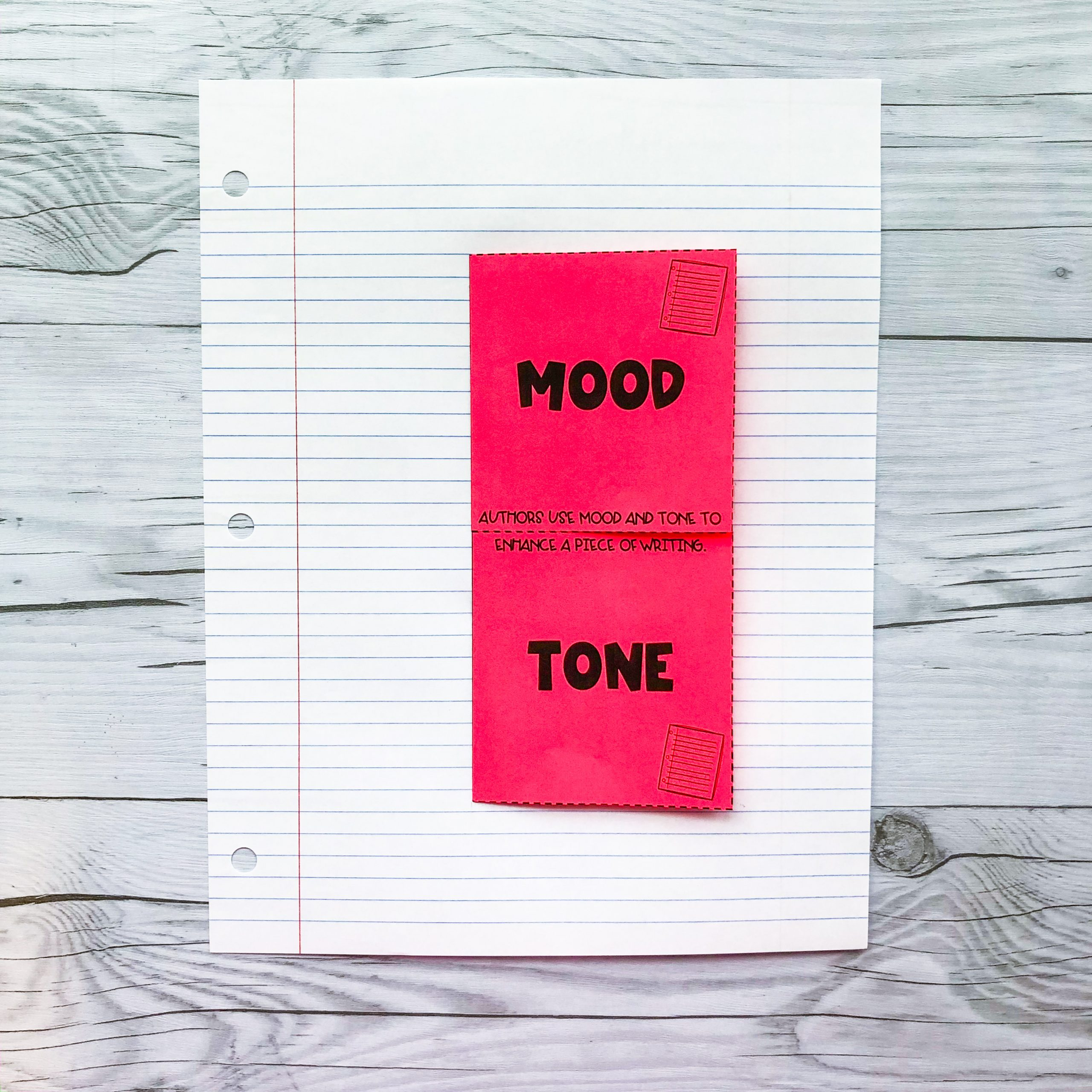 Teaching Mood And Tone In Writing