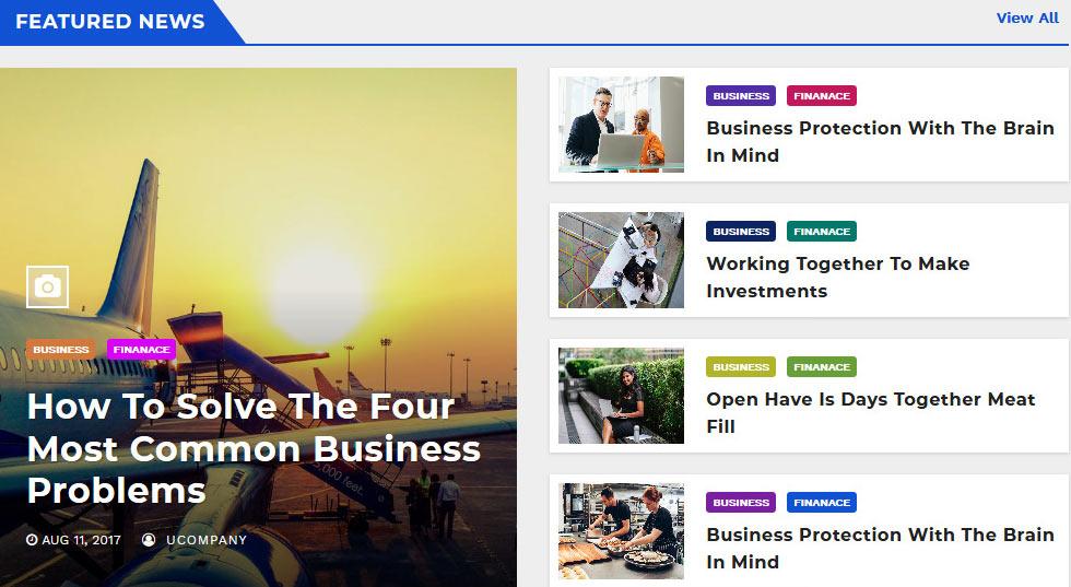 Tema Newsup WordPress