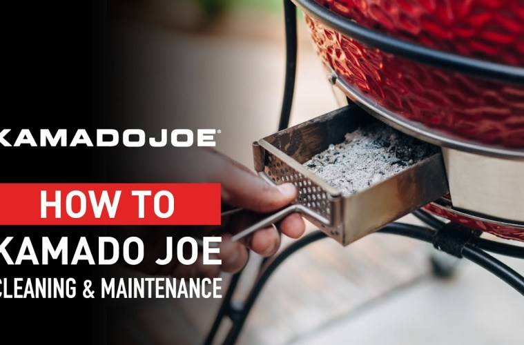 Kamado Grills 101 Cleaning and Maintenance