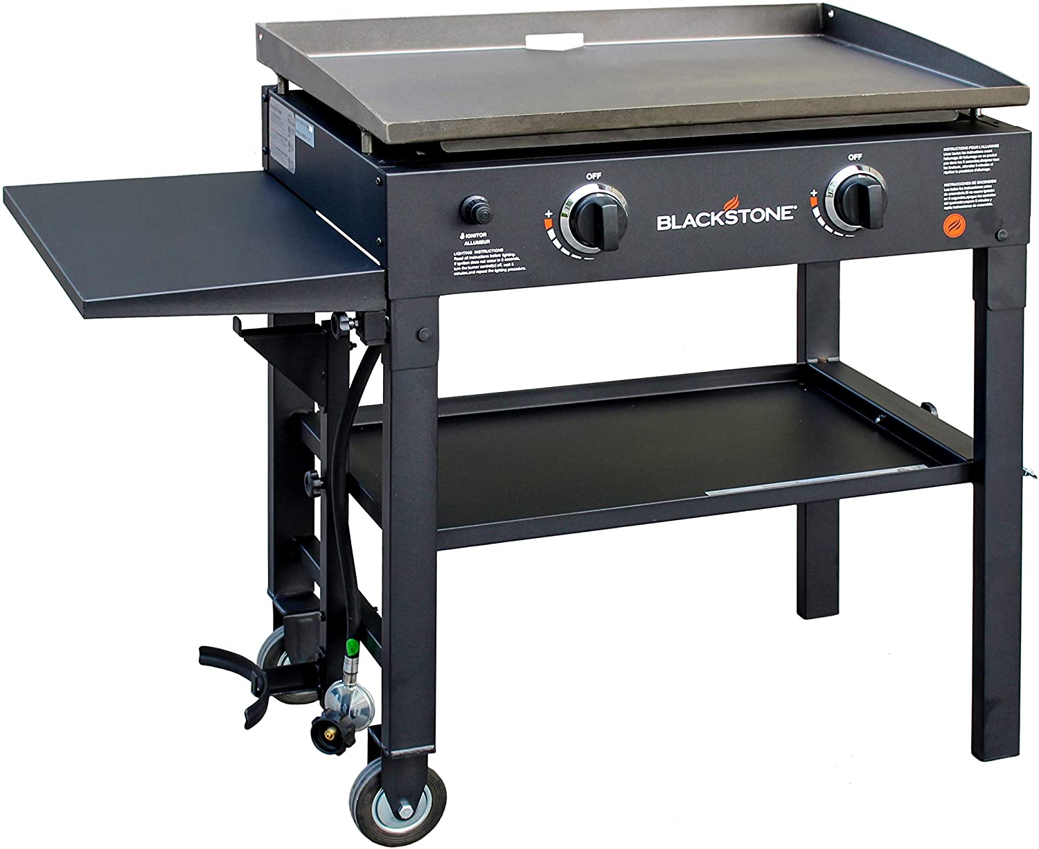 Blackstone Outdoor Flat Top Gas Grill Griddle Station
