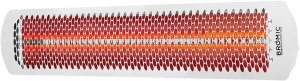 Bromic Heating Tungsten Smart-Heat 56-Inch 6000W Dual Element 240V Electric Infrared Patio Heater