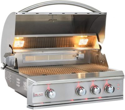 Blaze Professional Gas Grill with Rear Infrared Burner