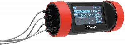 GrillEye PRO+ Wireless Grilling & Smoker Thermometer w 8 Probes