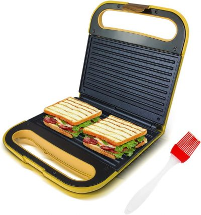 Health and Home Electric Indoor Grill and Panini Press