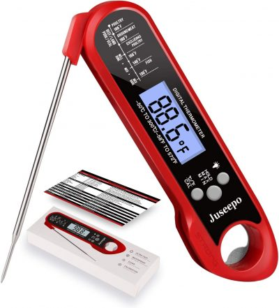 Joseph Instant Read Waterproof Meat Thermometer