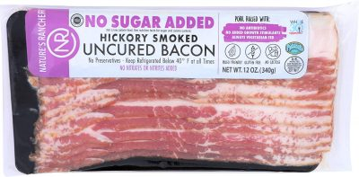 Nature's Rancher, No Sugar Added Hickory Smoked Bacon