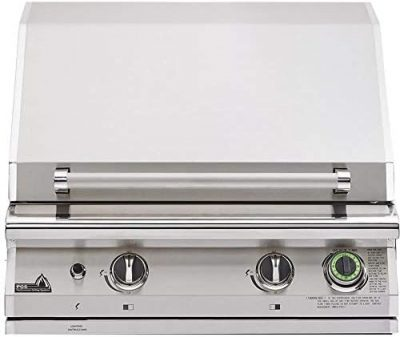 """PGS T-Series Commercial 39"""" Built-In Natural Gas Grill With Timer"""