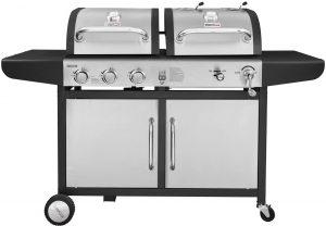 Royal Gourmet 3 Burner Gas & Charcoal Grill Combo