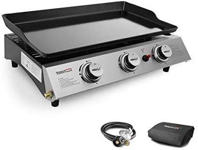 Royal Gourmet Portable 3 Burner Propane Gas Grill