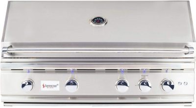 Summerset TRL 38-Inch 4-Burner Built-In Natural Gas Grill