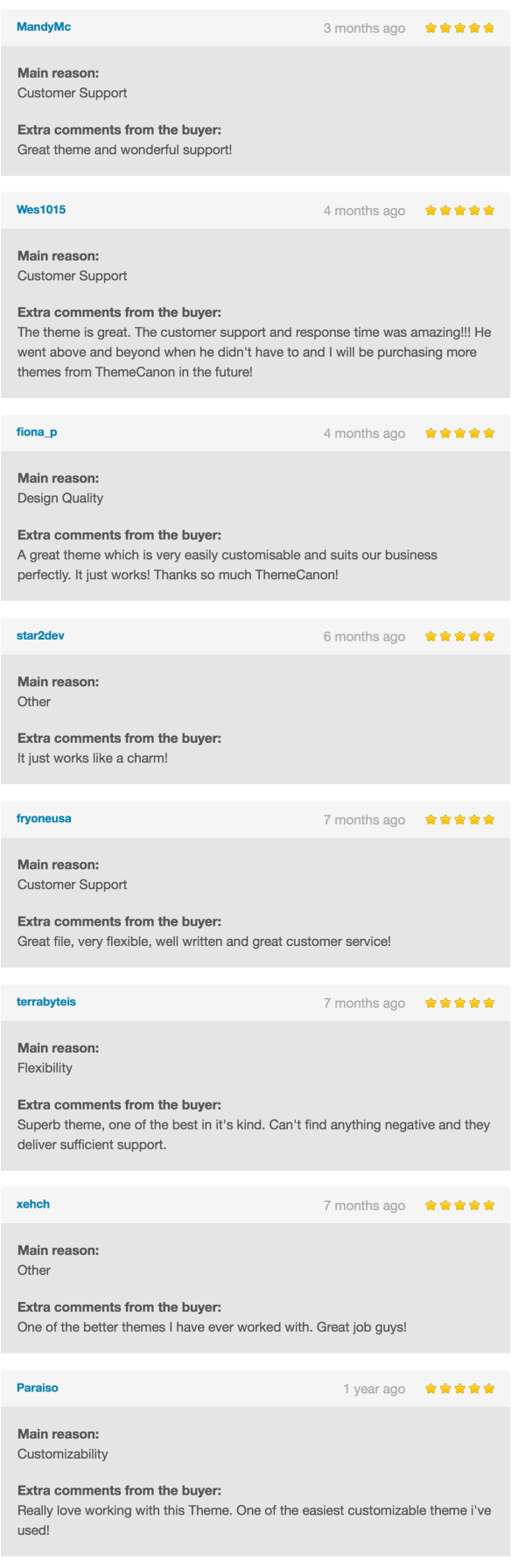 Customer Reviews