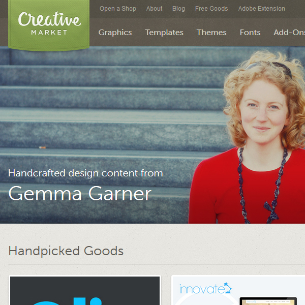 Creative Market Marketplace