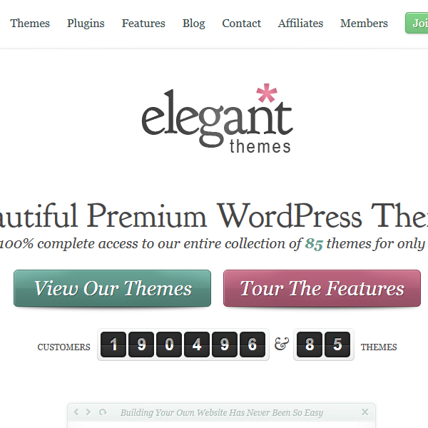 Elegant Themes Marketplace