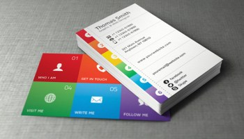 20 best minimalistic business cards designs themecot 20 best free business card templates colourmoves Images