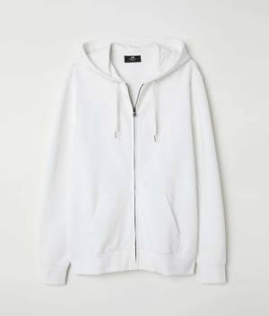 Hooded jacket Regular fit back