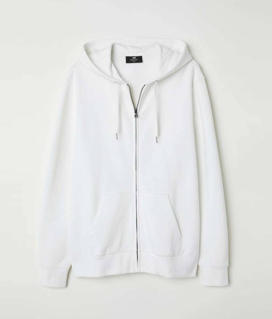 Hooded jacket Regular fit back