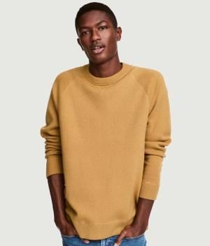 Silk blend sweater front