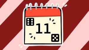Одиннадцатое число. Иллюстрация Александры Амзиной