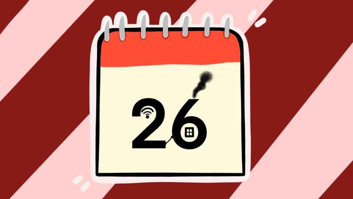 Двадцать шестое число. Иллюстрация Александры Амзиной