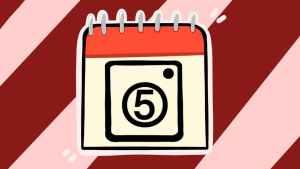 Пятое число. Иллюстрация Александры Амзиной