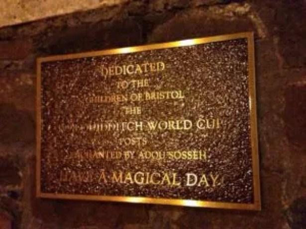 humour in pr quidditch goal posts