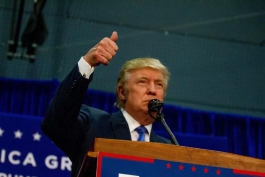 Trump banned unfriendly news organisations