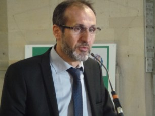 Hikmet Turk, the president of the regional council of the Muslim faith in west Île-de-France