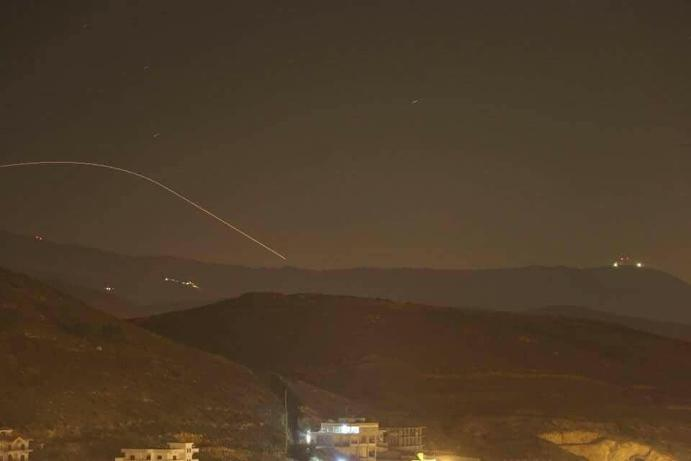 Israeli raids on 'Iranians' in Syria