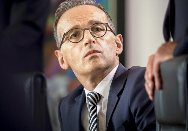 Germany's foreign minister, Heiko Maas