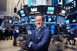 Richard Quest in New York, NY.