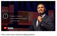 Trevor Noah's attack on free speech